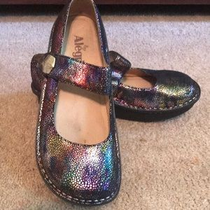 Alegria multi foil shoes